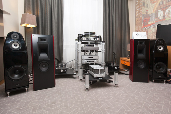 Moscow Hi-End Show 2012. Salon Hi-Fi and Artelectro