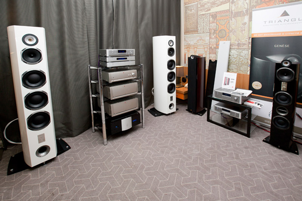 Moscow Hi-End Show 2012. Tria Inernational Ltd.