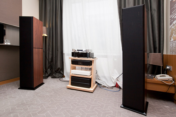 Moscow Hi-End Show 2012. Burcev Audio