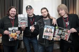 Журнал Classic ROCK, комната №203