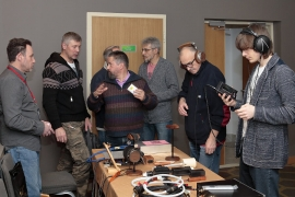 Экспозиция портативного аудио на стенде Efa Life/Ultra Audio Systems