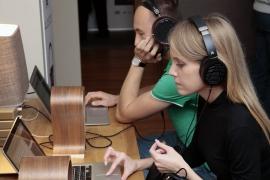 Прослушивание на стенде Digital Fruits