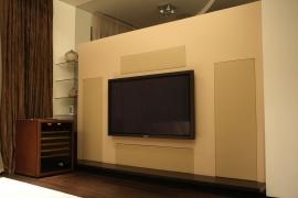Next Hi-FI: инсталляция на основе акустики PMC и электроники Cyrus, NAD и Samsung. Соединительные кабели Van den Hul
