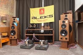 ALEKS AUDIO на Moscow Hi-End Show 2014