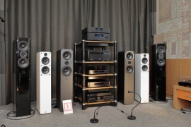 Компания Simple Distribution (акустика Q Acoustics, электроника Emotiva)